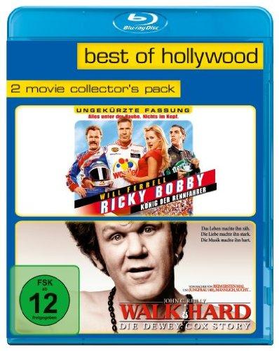 Ricky Bobby - König der Rennfahrer/Walk Hard: The Dewey Cox Story - Best of Hollywood/2 Movie Collector's Pack...