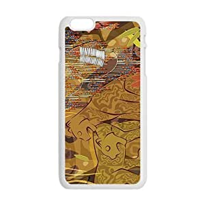 Creative Leopard Pattern Custom Protective Hard Phone Cae For Iphone 6 Plus
