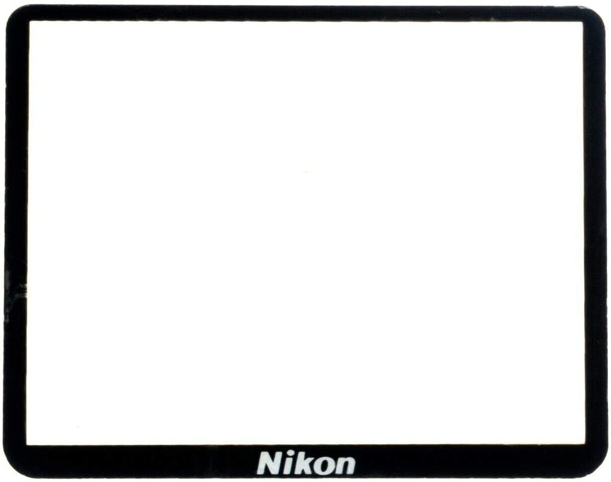 New Top Outer LCD Screen Display Window Protector Glass For Nikon D750 with Tape