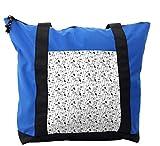 Lunarable Sketch Shoulder Bag, Classical Fine Arts Symbols, Durable with Zipper