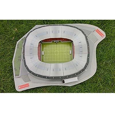 Tkfy World Cup Assemblare Puzzle San Mams Stadio Puzzle Spagna 3d Campo Di Calcio Modello Di Calcio Fans Memorabilia Regalo Giocattoli