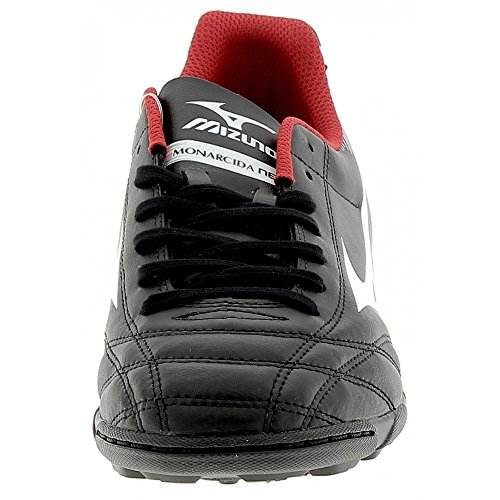 Mizuno Monarcida Neo As - zapatos de gimnasia Hombre Nero (Black/White/Red)