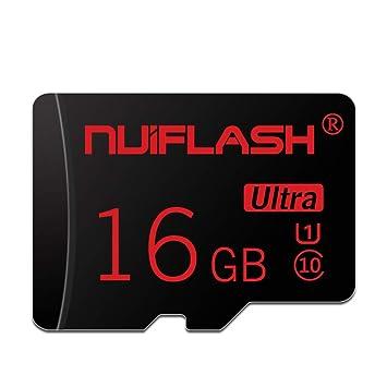Amazon.com: NUIFLASH - Tarjeta de memoria Micro SD TF de ...