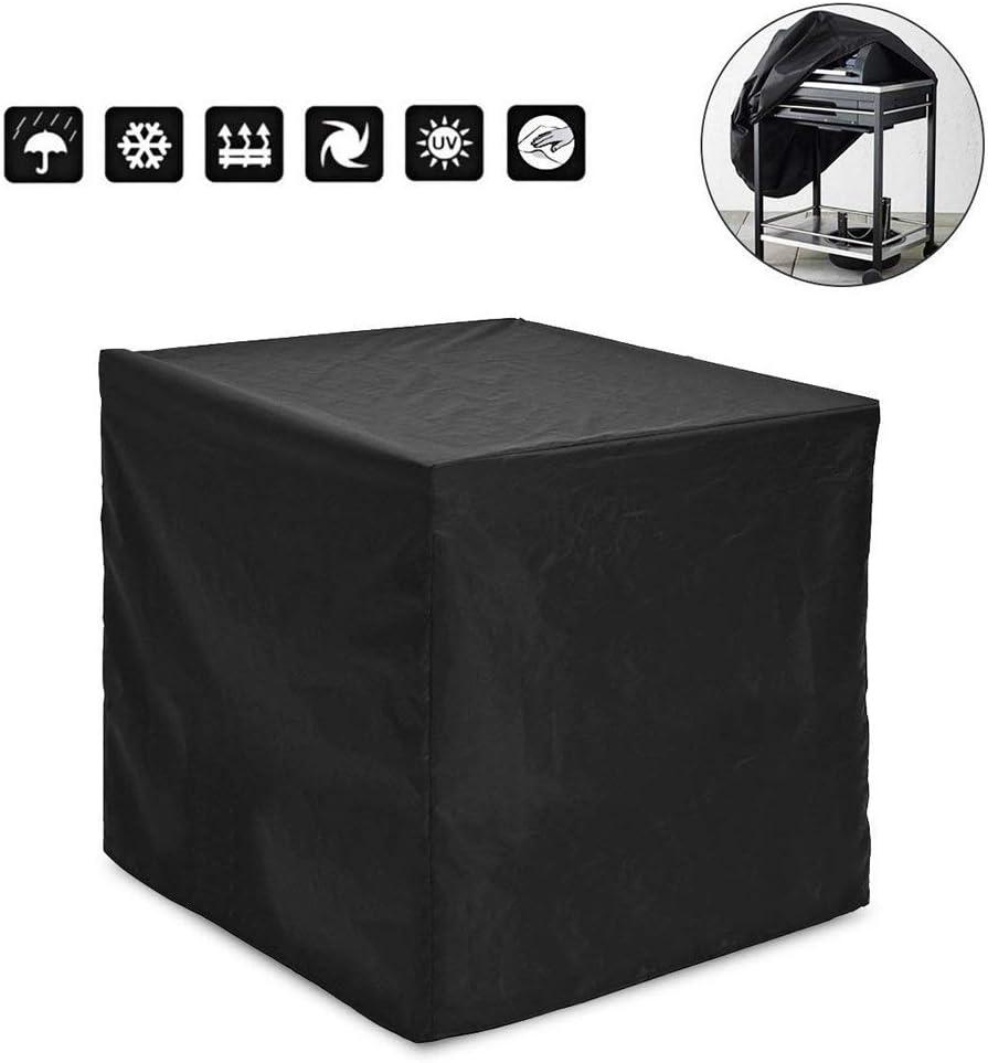 PRETTYLE - Funda cuadrada para muebles de jardín, barbacoas, funda protectora impermeable para muebles de exterior