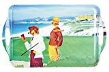 Navika PGA Beachside Golf Serving Tray, Green, 19 x 11 3/4''