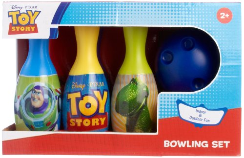 Disney Pixar Toy Story Bowling Set MULTI (Story Toy Ball)