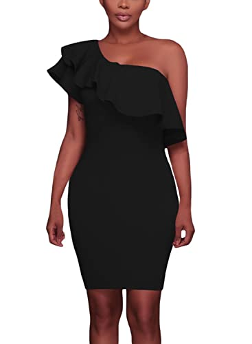 Elapsy Womens Sexy One Shoulde...