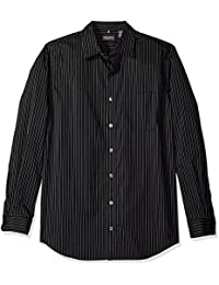 Men's Big and Tall Traveler Stretch Long Sleeve Non Iron...
