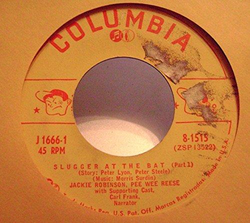 Jackie Robinson / Pee Wee Reese - Slugger At The Bat , 45 rpm