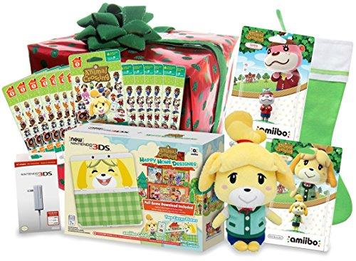 The Secret Santa Animal Crossing Nintendo 3DS Happy Home Designer Edition with 8