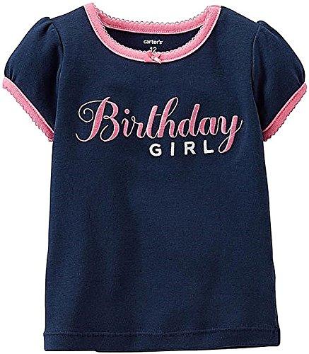 Carter's Birthday Tee (Baby) - Birthday Girl-9 - Girl Tee Glamour