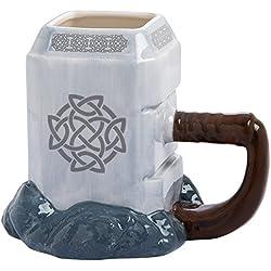 Vandor 26401 Marvel Thor Mjolnir Ceramic Sculpted Mug