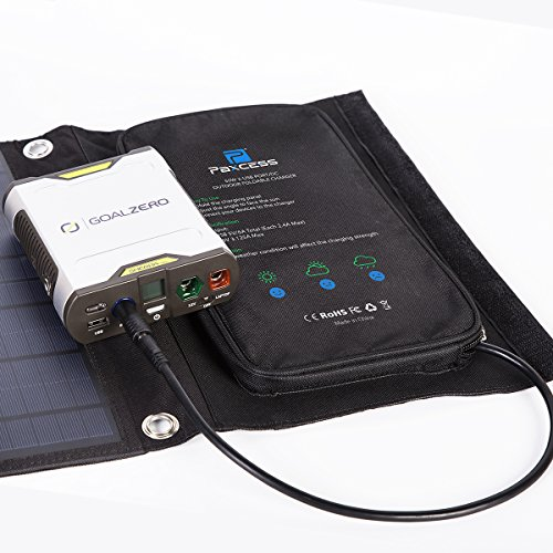 PAXCESS Foldable 50W Solar Panel Charger for Suaoki ...