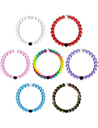 From 2018 New Friends Silicone Bead Bracelet Set