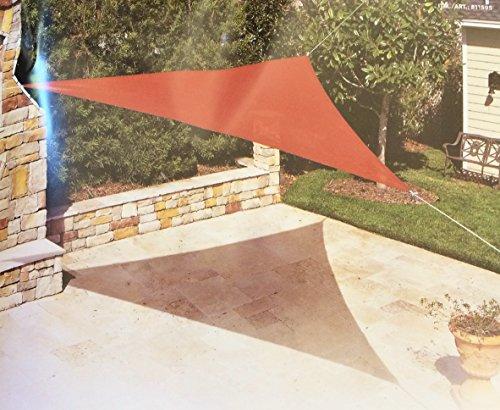 Coolaroo Ready Triangle Canopy Terracotta product image