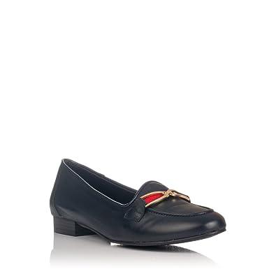 MARIA JAEN 6003 Mocasin Adorno Piel Mujer: Amazon.es: Zapatos y complementos