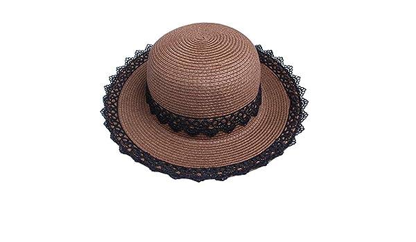 Sombrero de paja para playa de verano 9bbb04ba481