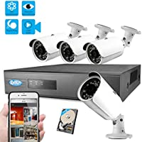 Best Vision 8CH 1TB 960P IP NVR Security Surveillance System + (4) 1.3MP PoE Outdoor Bullet Cameras