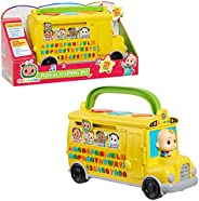 CoComelon Musical Learning Bus, Number and Letter Recognition, Phonetics, Yellow School Bus Toy Plays ABCs and