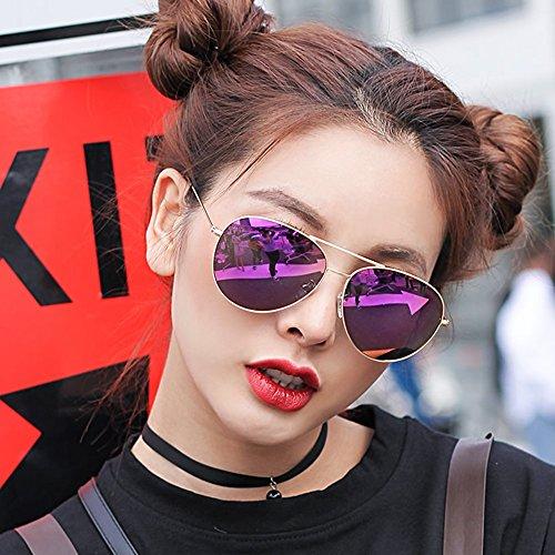 mujer moda de para de A hombre sol de Gafas de UV400 sol de SSSX Gafas C Color polarizadas 100 Gafas conducción sol x05IqXS