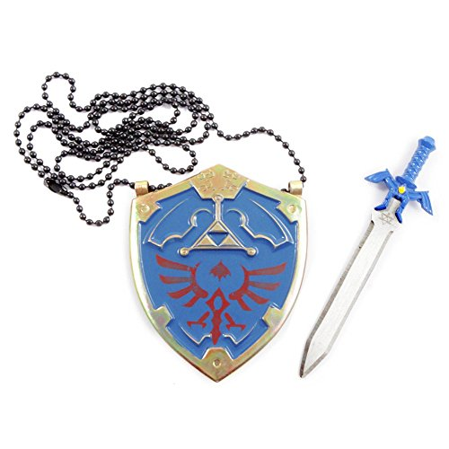 On Sale Legend Of Zelda Master Sword Letter Opener And Hylian Shield