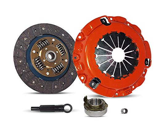 (Clutch Kit works with Mazda Rx-8 Grand Touring Gt R3 Sport 40th Anniversary Edition Base Shinka 2004-2011 1.3L R2 GAS Naturally Aspirated (Rotary 13B-Msp 6 Speed; Stage 1) )
