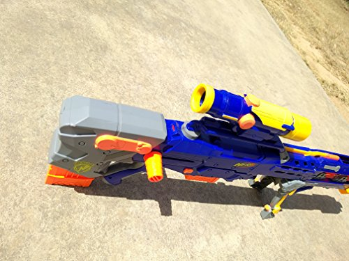 Nerf Longshot CS-6 Blue - Rare Discontinued Model