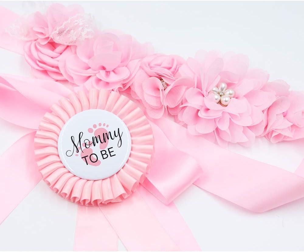 Amazon.com: Cinturón para el ombligo de bebé rosa para la ...
