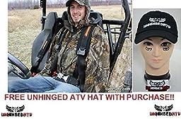 BLACK!! Single 4 Point Seat Belt Harness 2\
