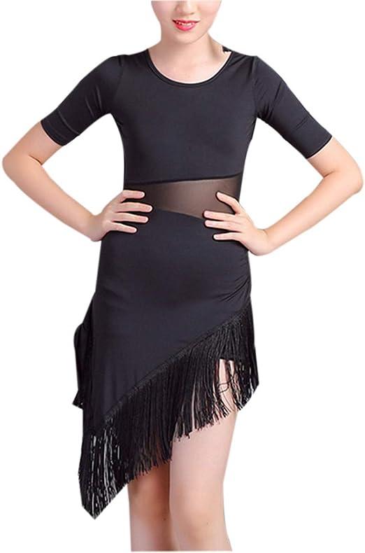 Vestido de Baile Latino con Borla - Disfraces para Falda de ...