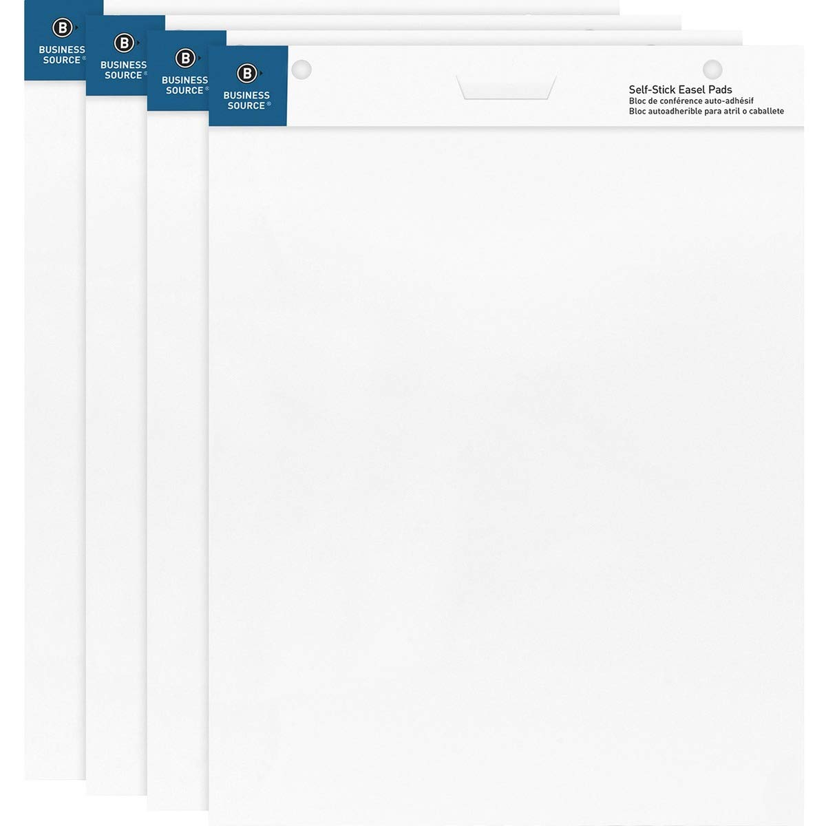 Business Source 25''x30'' Self-Stick Easel Pads (3) by Business Source