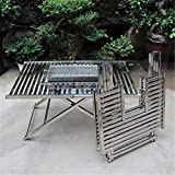 Gemdeck Portable BBQ Charcoal Grill Folding Table