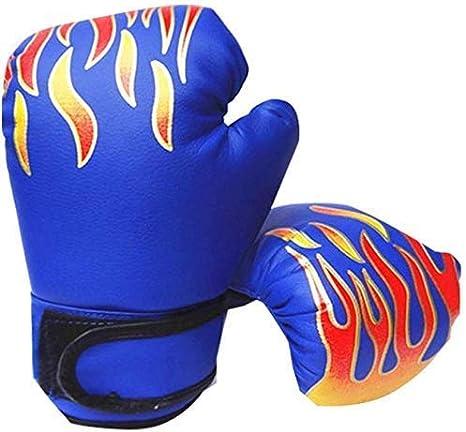 Sac de Frappe Cage Combat Muay Thai Tmalltide Gants de Boxe pour Enfant Muay Thai et Sparring Kick Boxing Training pour Kickboxing