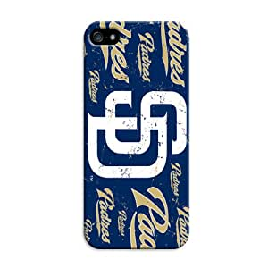 LarryToliver Customizable Baseball San Diego Padres Birthday Gift Cheap unique iphone 5/5s Hard Case Cover Protector Gift Idea