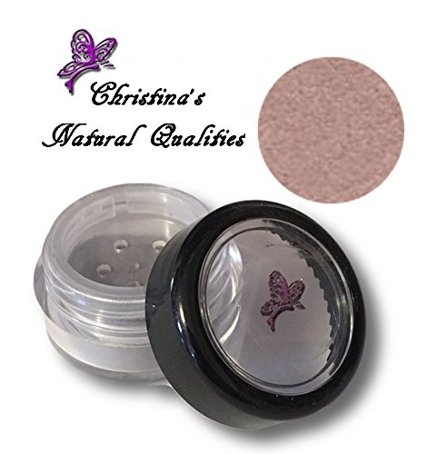 Christina's Natural Qualities All Natural Mineral Powder Shimmer Plum Eye Color (Eyeshadow) - Plum Ice - Mauve Ice