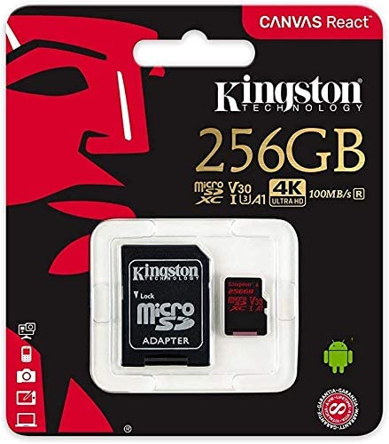 80MBs Works with Kingston Professional Kingston 256GB for Sony F8131 MicroSDXC Card Custom Verified by SanFlash.