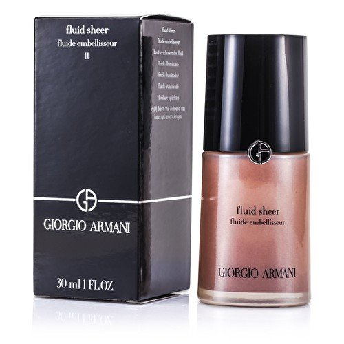 Giorgio Armani Fluid Sheer - # 11 Amber - 30ml/1oz