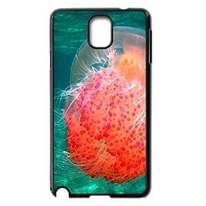 Samsung Galaxy Note 3 Cases Red Jellyfish, Samsung Galaxy Note 3 Case for Girls - [Black] Okaycosama