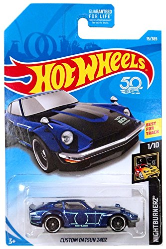 Amazon.com: Hot Wheels 2018 Nightburnerz Custom Datsun 240Z 15/365 ...