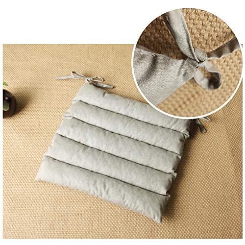 Grey Seat Mat A.B Crew Premium Quality Cotton//Linen Cute Deer Car Soft Decor Accessories