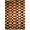 Safavieh Lexington Collection LX115A Hand-Knotted Red and Black Wool Area Rug