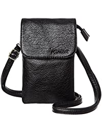 Roomy Pockets Series Small Crossbody Bag Cell Phone Purse...