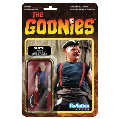 [ Re- action ] 3.75 inches action figures ' The Goonies ' series 1 Sloth