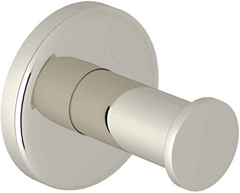 Tradco 3975PB Robe Hook Rope Porcelain Tip Polished Brass P80mm