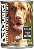 PetGuard Organic Vegan Entree – Adult – 12×12.7oz For Sale