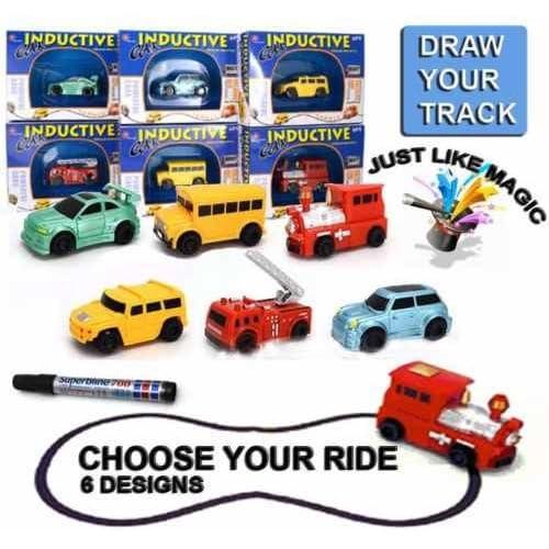 Zlft Inductive Enfants De Electrique Set Magic Toy Modèle Car tQrCxshd