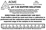 Acme Analytical Solutions pH 7 Buffer