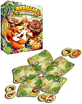 Átomo Games Ardillas del Bosque. El Juego de Mesa: Amazon.es ...