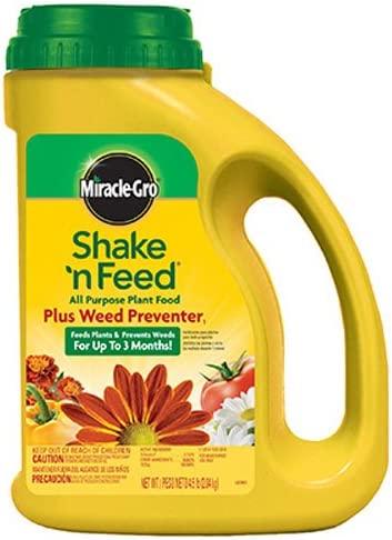 Shake 'N Feed All Purpose Plant Food Plus Weed Preventer1