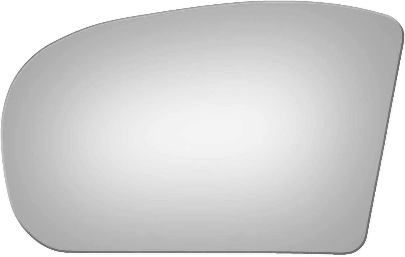 Flat Driver Side Mirror Replacement Glass for 2003-2009 MERCEDES-BENZ E320